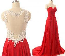 Red dresses,lace top..